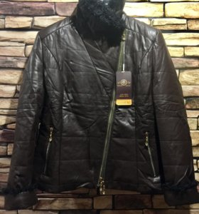 Новая зимняя куртка-косуха 48-50 р