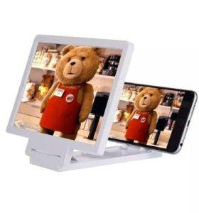 Увеличительное стекло для смартфона