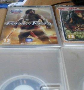 игры для PSP 4 шт. лицензионные