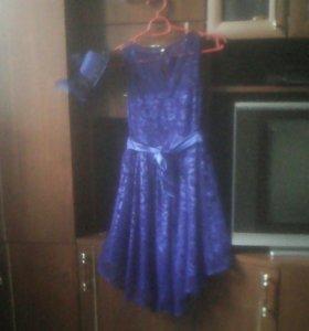 Платье очень красивое на худенькую девочку.