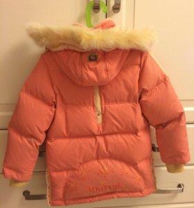 Куртка -пуховик для девочки
