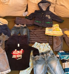 Одежда для мальчика 86 размера