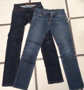 Двое джинсов 42-44 р.