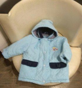 Куртка осень /весна на сентипоне р-р 104-110