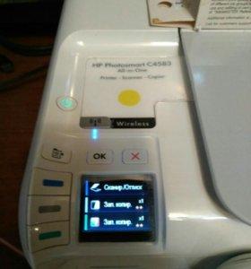 Принтер HP PhotoSmart C4583