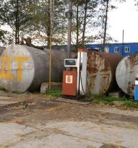 Резервуары под топливо заправочные колонки.