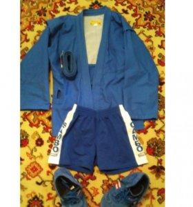 Куртка шорты борцовки для самбо