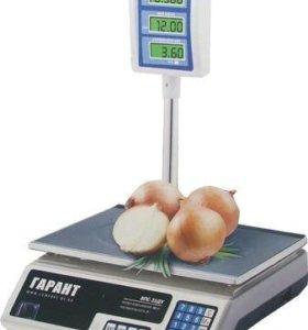 Весы торговые 40 кг со стойкой Новые