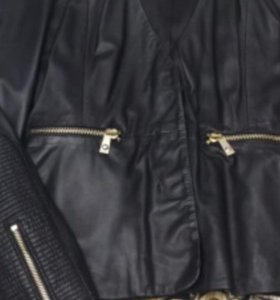 Кожаная куртка Pinko