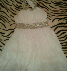 Вечерне-свадебное платье