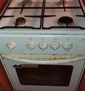 Газовая плита на ремонт или на запчасти