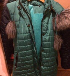 Куртка зимняя, обмен не предлагать.