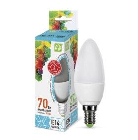 Светодиодная лампа ASD свеча Е14, 7.5Вт