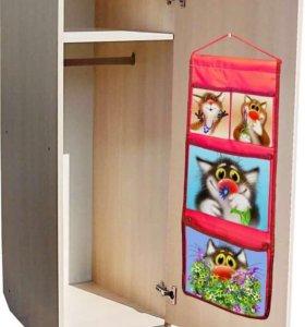 НОВЫЙ кармашек в шкафчик для детского садика