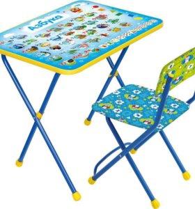 """Комплект детской мебели """"Азбука"""" новый"""