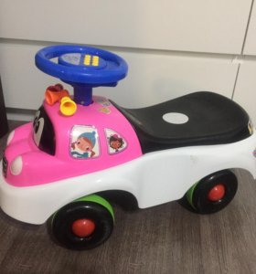 Машина-каталка детская музыкальная