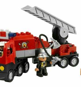 Лего Дупло Пожарная Машина.