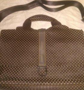 Новая кожаная сумка Salvatore Ferragamo