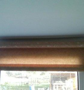 Рулонные шторы в сборе 60*170см и 50*170см.