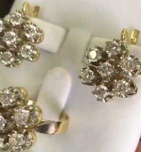 Продам бриллиантовый комплект срочно