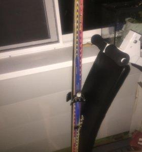 Лыжи в хорошем состоянии