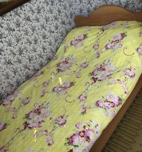 Кровать и матрац