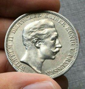3 марки 1909 года Пруссия