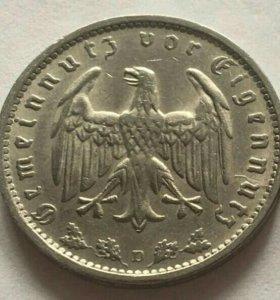 1 марка 1937 год