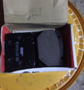 Колодки тормозные передние ваз 2101-07