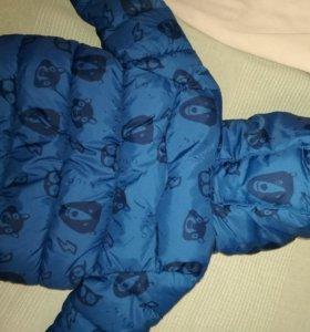 Куртка Zara для мальчика 18-24мес.