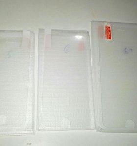 Защитное стекло IPhone 5/5c/5s/SE/6/6s/6 Plus