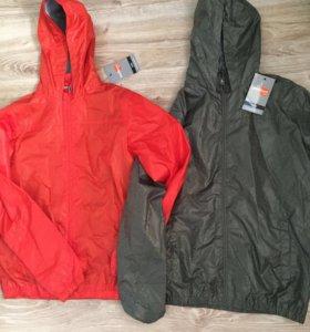 Куртки-ветровки новые от 5 до 14 лет