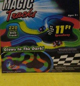 Гоночная трасса Magic Tracks 220 деталей