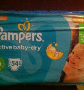 Подгузники Pampers Active Baby-Dry 6 (15+ кг), 54