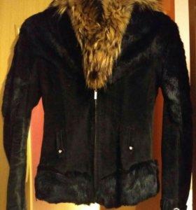 Куртка натуральная замша