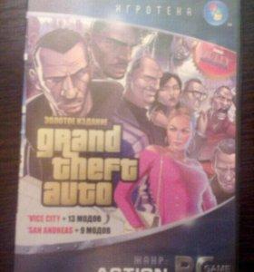 GTA Золотое издание GTA SAN ANDREAS