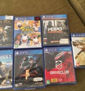 Игры новые для PS4