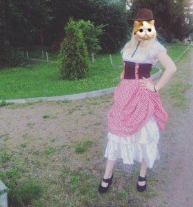 Костюм ковбойши - вестерн (карнавальный костюм)