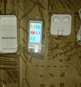 Аpple ipod nano 7 16gb silver