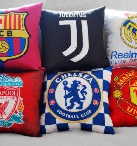 Подушки футбольных клубов