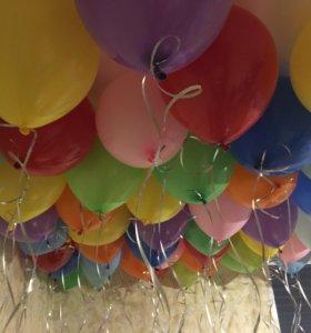 Воздушные шары, шарики с гелием, гелиевые шары