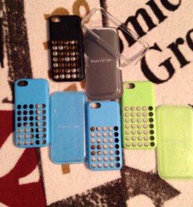 Оригинальные бампера IPhone 5c Case