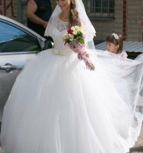 Свадебное платье(Айвори лайт)