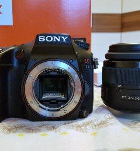 Sony SLT-A77 kit 18-55 фотоаппарат