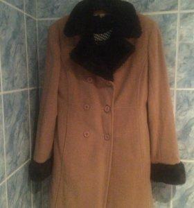 пальто пикот