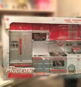 Детская кухня для кукол для детей
