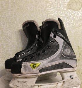 Коньки хоккейные 34 размер