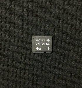 Карта памяти на 4gb для PS Vita