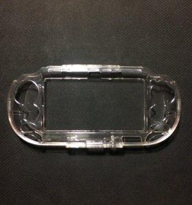 Пластмассовый кейс для PS Vita