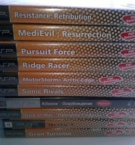 Игры для PSP (новые, в заводской упаковке)
